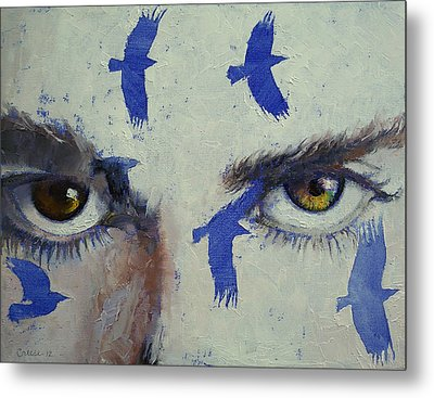 Crows Metal Print by Michael Creese