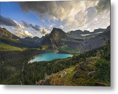 Crown Of The Continent Metal Print by Joseph Rossbach