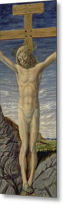 Crucifixion  Metal Print by Master of the Barberini Panels