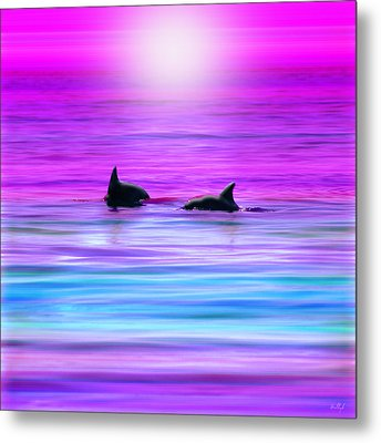 Cruisin' Together Metal Print by Holly Kempe