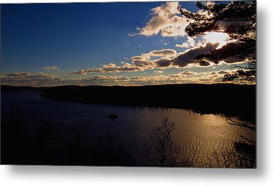 Cruising Into The Sunset Metal Print by Stephen Melcher