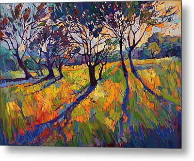 Crystal Light II Metal Print by Erin Hanson