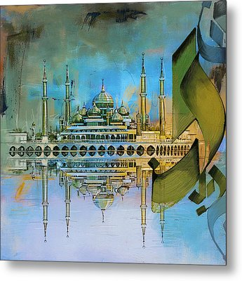 Crystal Mosque Metal Print by Corporate Art Task Force