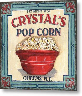 Crystal's Popcorn Metal Print by Debbie DeWitt