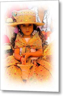 Cuenca Kids 550 Metal Print by Al Bourassa