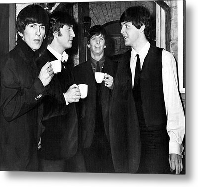 The Beatles Metal Print by Retro Images Archive