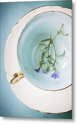Cup Of Three Metal Print by Amy Weiss