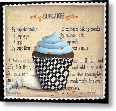 Cupcake Masterpiece Metal Print by Catherine Holman