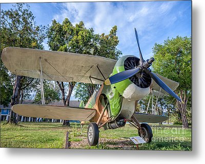 Curtiss Hawk IIi  Metal Print by Adrian Evans