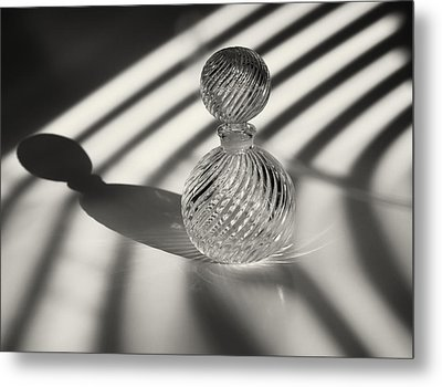Curvatures 3...shadows Metal Print by Tom Druin