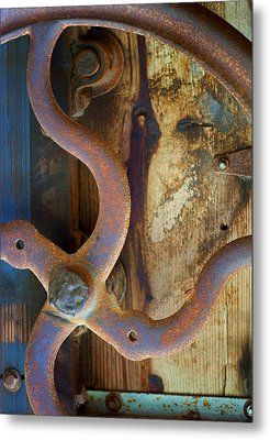 Curves And Lines II Metal Print by Stephen Anderson