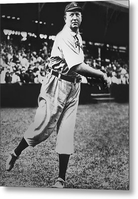Cy Young Metal Print by Retro Images Archive