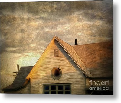 Cyclops House Metal Print by Gregory Dyer