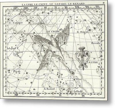 Cygnus Constellation Metal Print by Us Navy