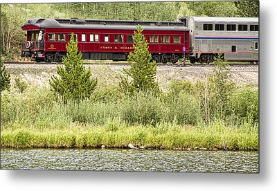 Cyrus K  Holliday Private Rail Car Metal Print by James BO  Insogna