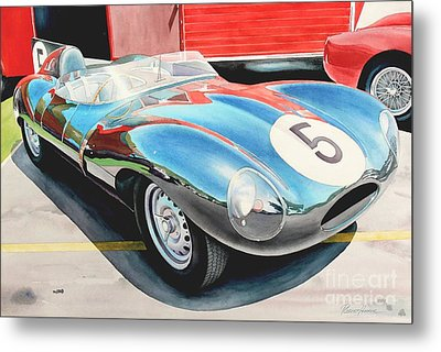 D Type Metal Print by Robert Hooper