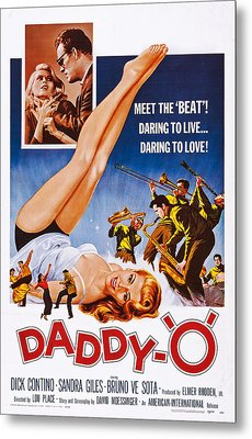 Daddy-o, Us Poster Art, 1959 Metal Print by Everett