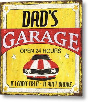 Dad's Garage Metal Print by Debbie DeWitt
