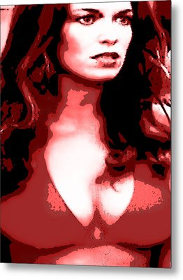Daisy Duke Dark Variation Metal Print by J Anthony