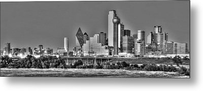 Dallas The New Gotham City  Metal Print by Jonathan Davison