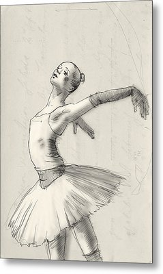 Dance Metal Print by H James Hoff