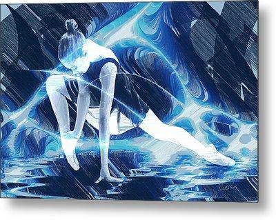 Dance Of Light Metal Print by Marina Likholat