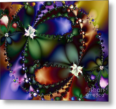 Dance Of The Gypsy Moths On A Moon Lit Night 20130510 Metal Print by Wingsdomain Art and Photography