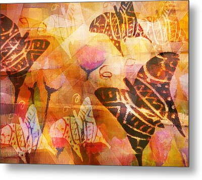 Dancing Butterflies Metal Print by Lutz Baar
