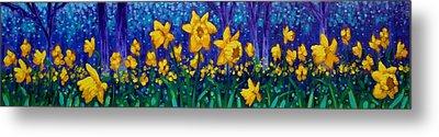 Dancing Daffodils  Metal Print by John  Nolan