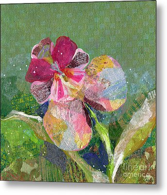 Dancing Orchid IIi Metal Print by Shadia Derbyshire