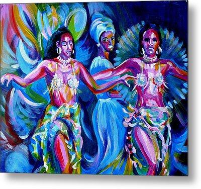 Dancing Panama Metal Print by Anna  Duyunova