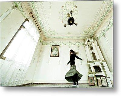 Dancing Time Metal Print by Eli Driu