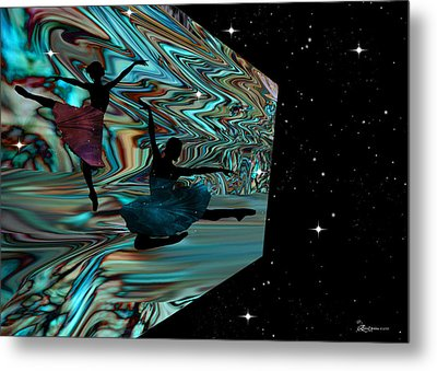 Dancing With The Stars-featured In Harmony And Happiness Group Metal Print by EricaMaxine  Price