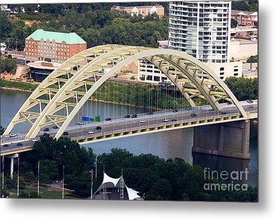 Daniel Carter Beard Bridge Cincinnati Ohio Metal Print by Paul Velgos