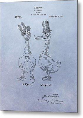 Danny Daddles Patent Metal Print by Dan Sproul