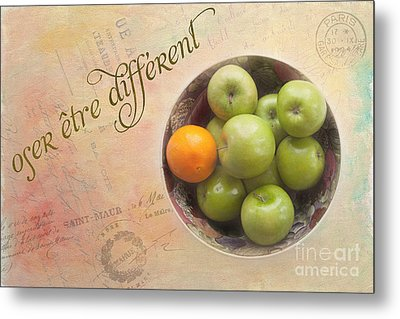 Dare To Be Different Metal Print by Kay Pickens
