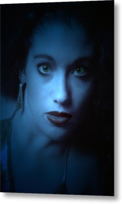 Dark And Mysterious  Metal Print by Teri Schuster