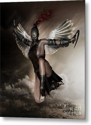 Dark Angel Metal Print by Shanina Conway