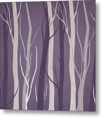 Dark Forest Metal Print by Aged Pixel