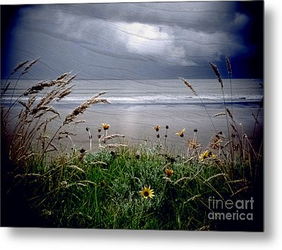 Dark Outlook Metal Print by Karen Lewis