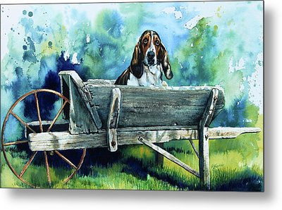 Darn Dog Days Metal Print by Hanne Lore Koehler