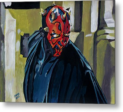 Darth Maul Metal Print by Jeremy Moore