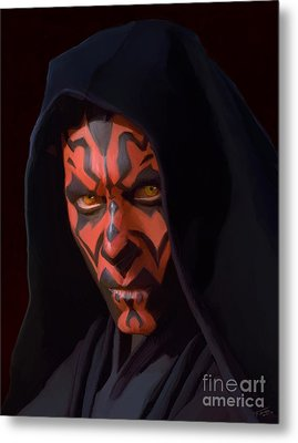 Darth Maul Metal Print by Paul Tagliamonte