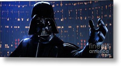 Darth Vader Metal Print by Paul Tagliamonte
