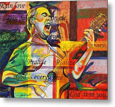Dave Matthews-bartender Metal Print by Joshua Morton