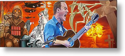 Dave Matthews The Last Stop Metal Print by Joshua Morton