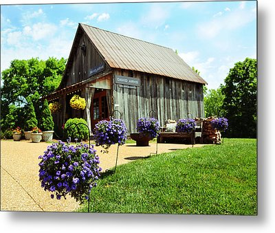 David Arms Gallery Metal Print by Gary Prather