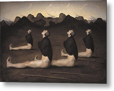 Dawn Metal Print by Odd Nerdrum