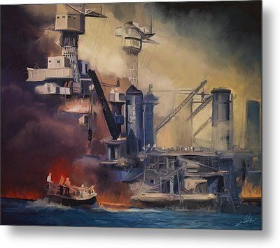 Day Of Infamy Metal Print by Dale Jackson