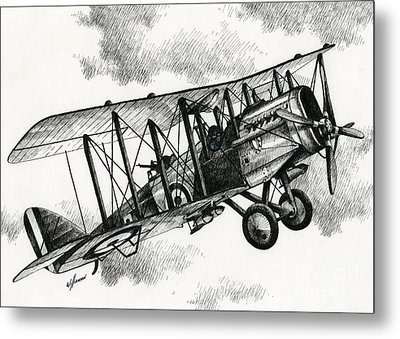 De Havilland Airco Dh.4 Metal Print by James Williamson